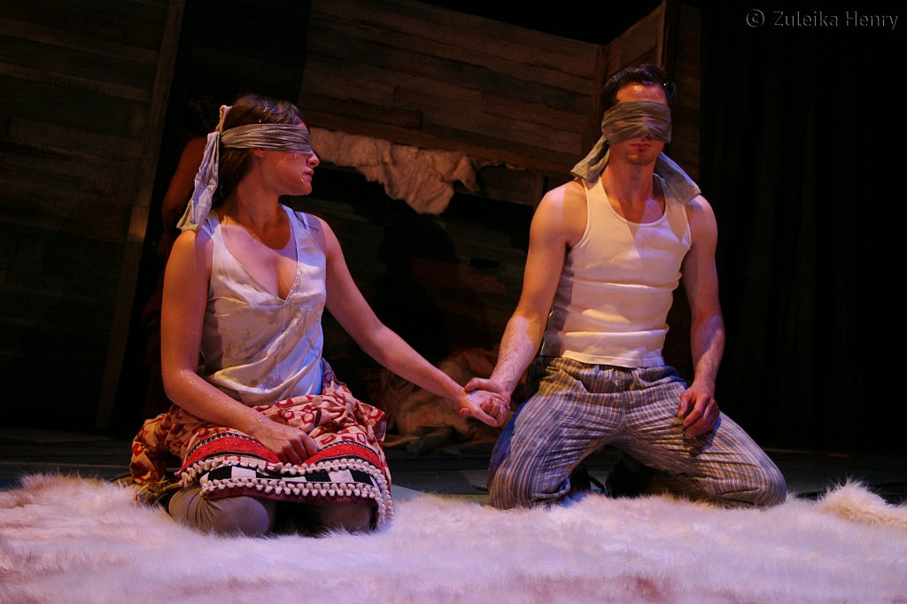 Mariah Gale as Miranda and Nick Court as Ferdinand