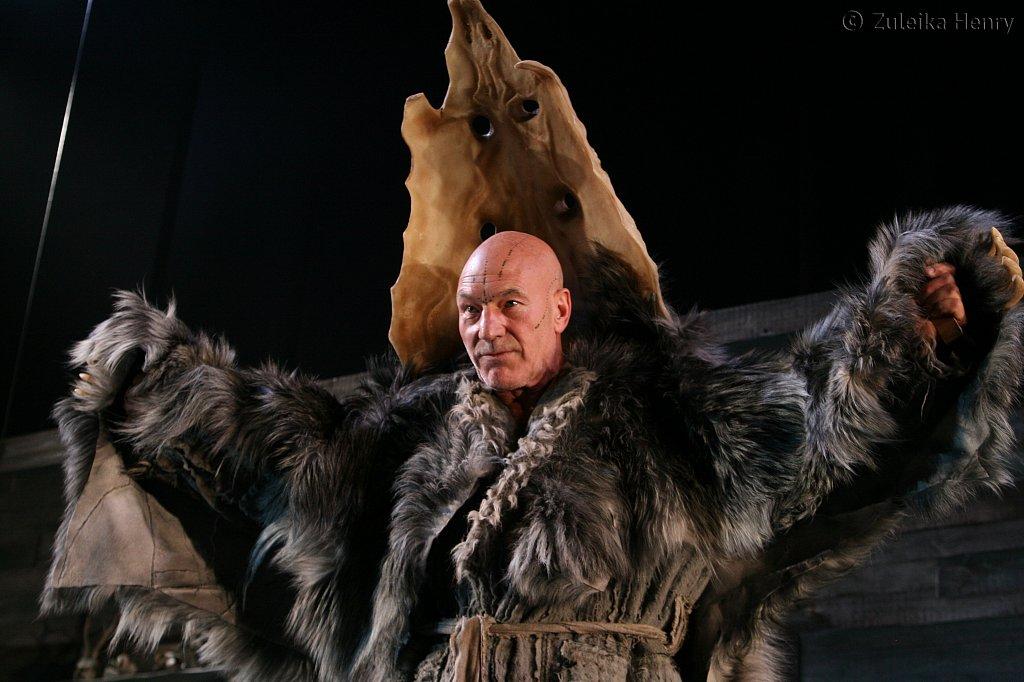Patrick Stewart as Prospero