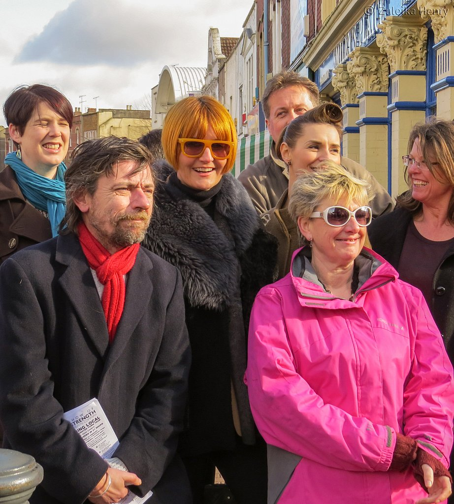 Mary Portas comes to visit Trading Local performed by Show of Strength Theatre Co.