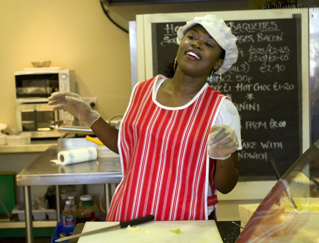 Nadia Williams in Sandwich Filling by Tony Rowlands