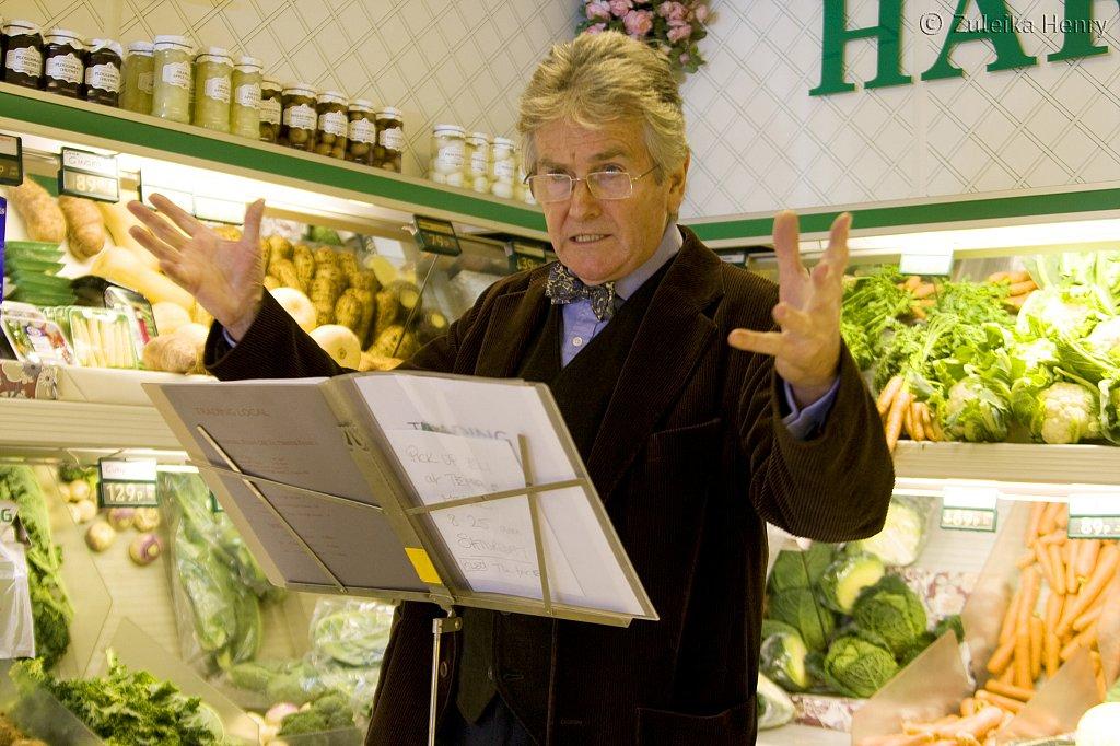 Tony Rowlands in Fruitee Fruit by Peter Gruffydd