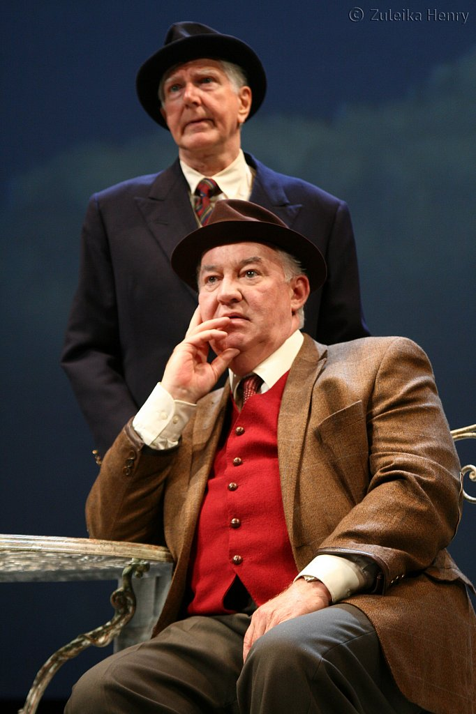 Stephen Moore as Jack and David Calder as Harry