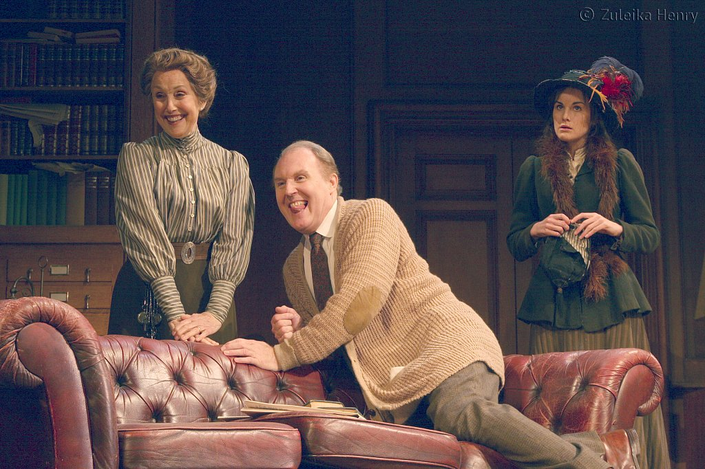 Una Stubbs, Tim Pigott-Smith and Michelle Dockery
