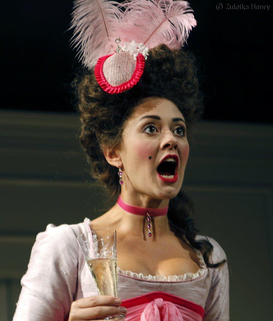 Susannah Fielding as Lady Teazle