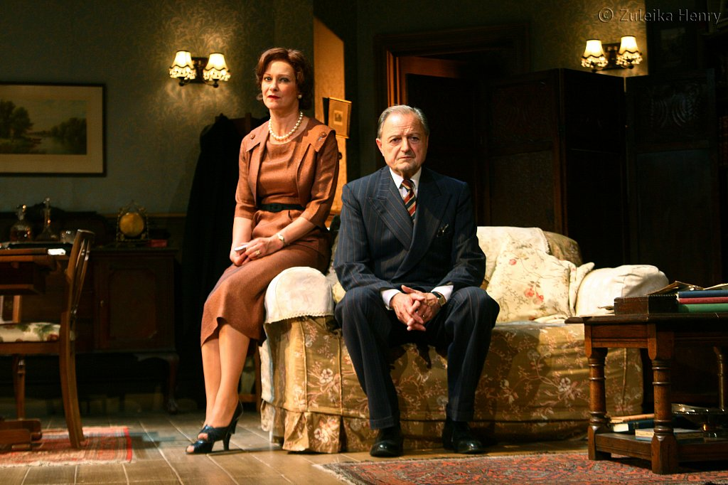 Candida Gubbins as Millie Crocker-Harris and Peter Bowles as Andrew Crocker-Harris
