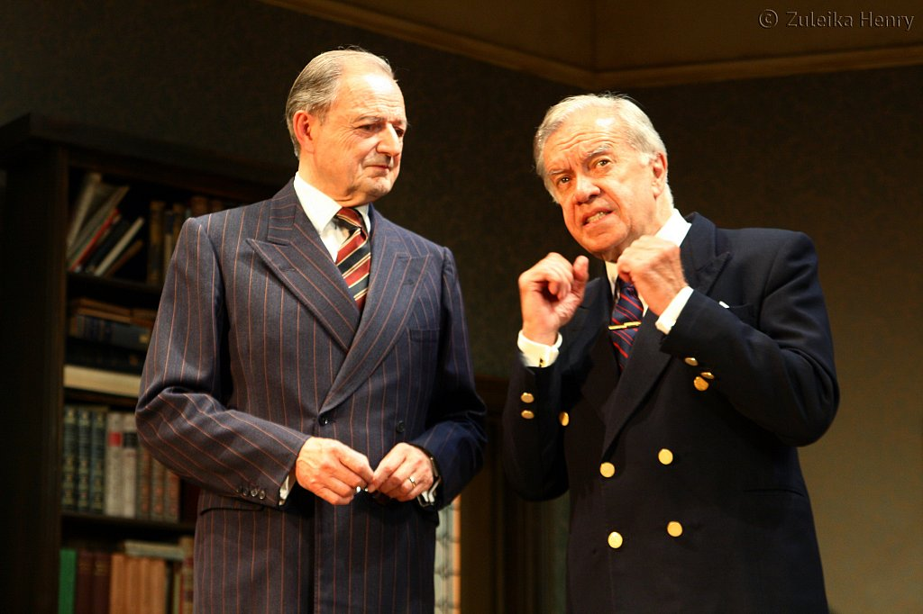 Peter Bowles as Andrew Crocker-Harris   and James Laurenson as Dr Frobisher