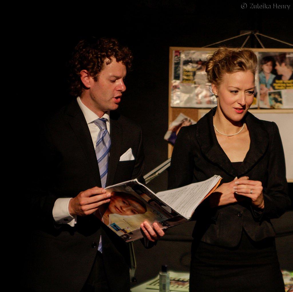 David Hans ford and Sarah Minns