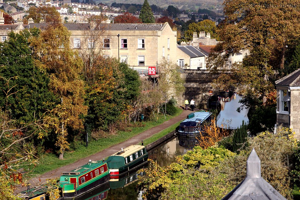 The Kennet and Avon Canal in Bath