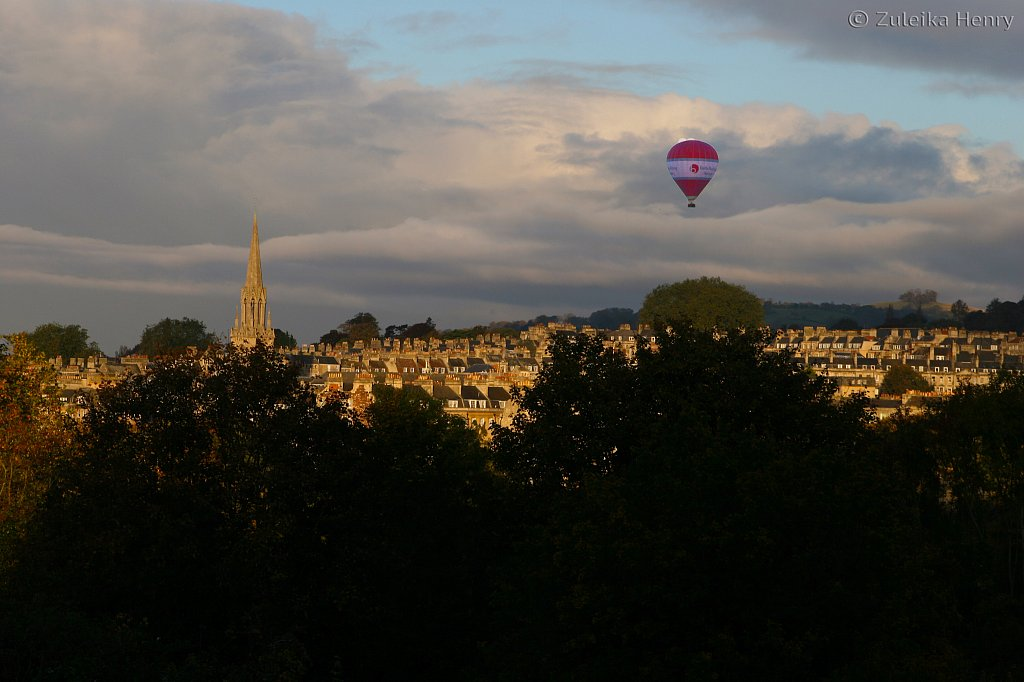 View of Bath from Sydney Buildings