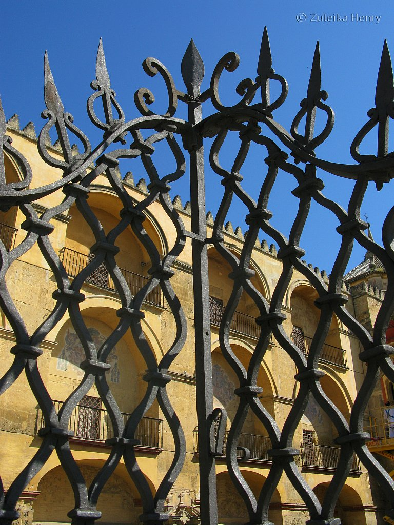 Wrought iron gates Cordoba