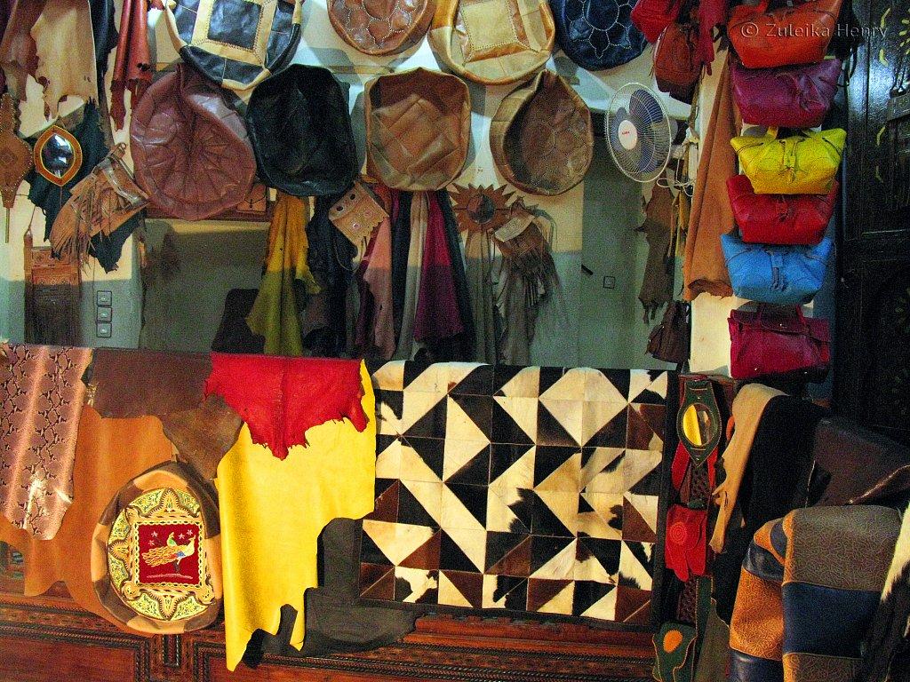 Leather market, Fez