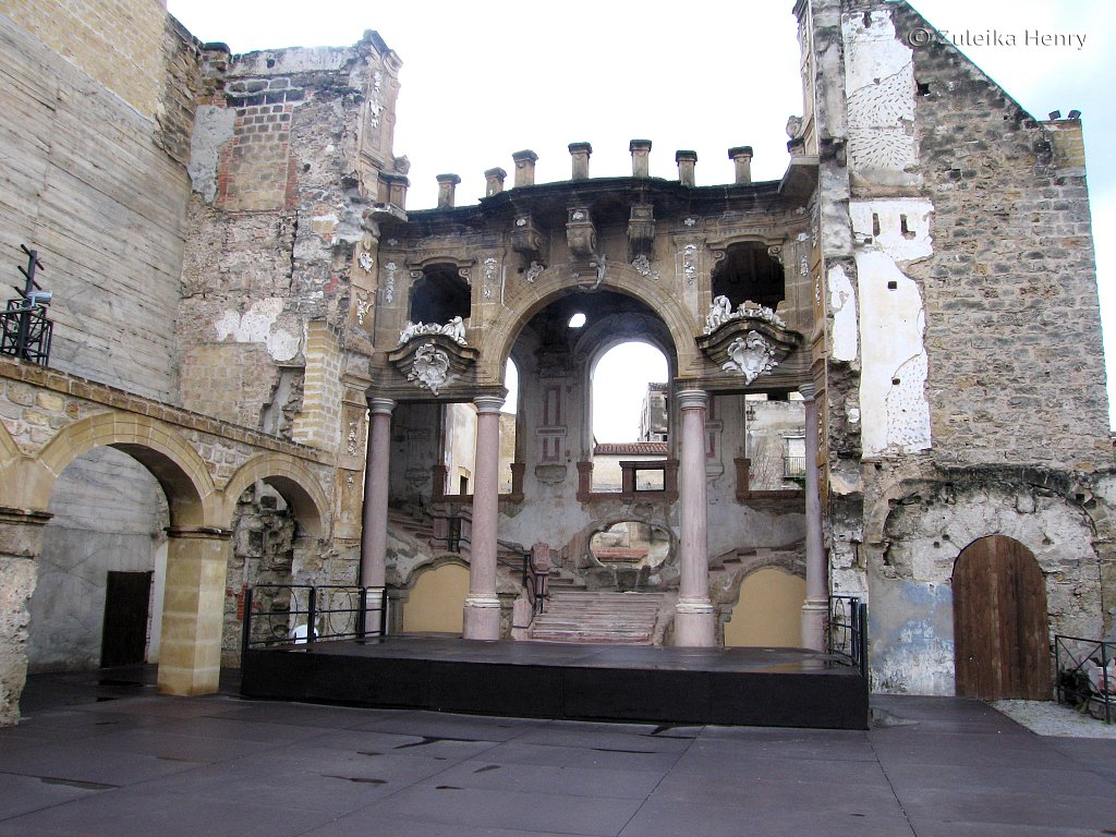 amongst the ruins a theatre