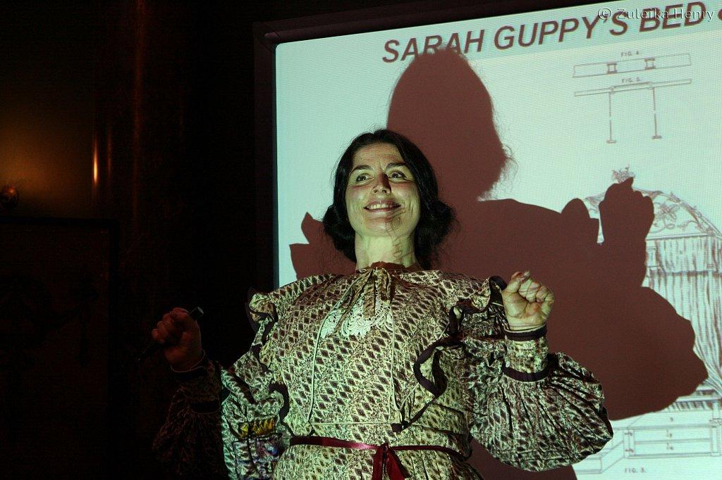 Sarah Guppy by Sheila Hannon with Kim Hicks