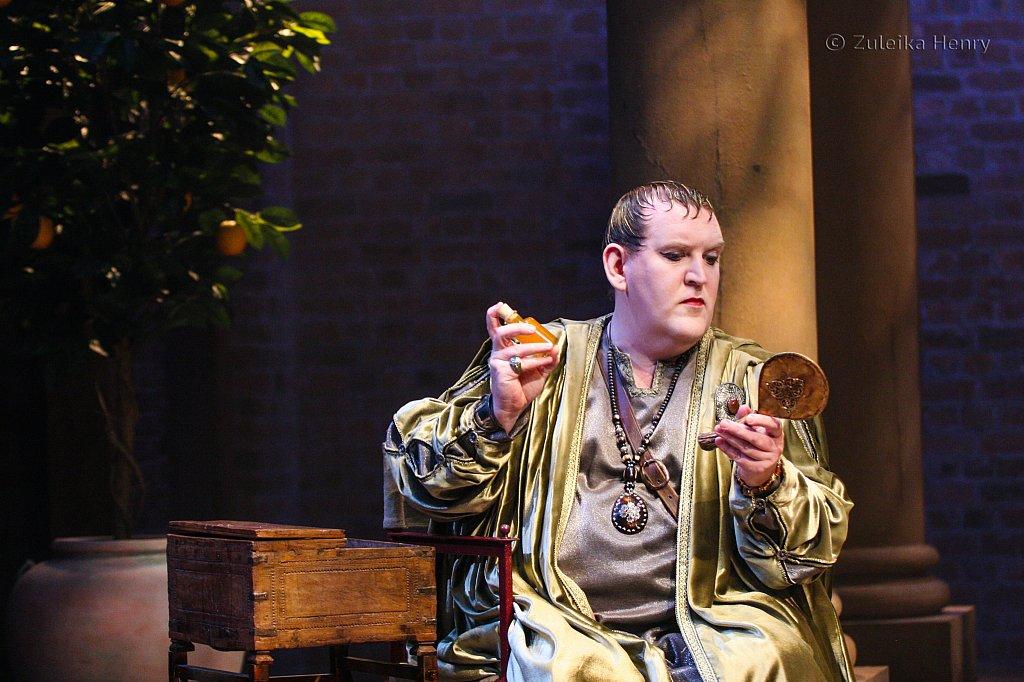 Nigel Betts as Eudemus