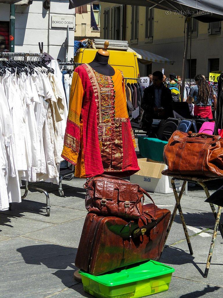Market, Turin, Piedmont, Italy