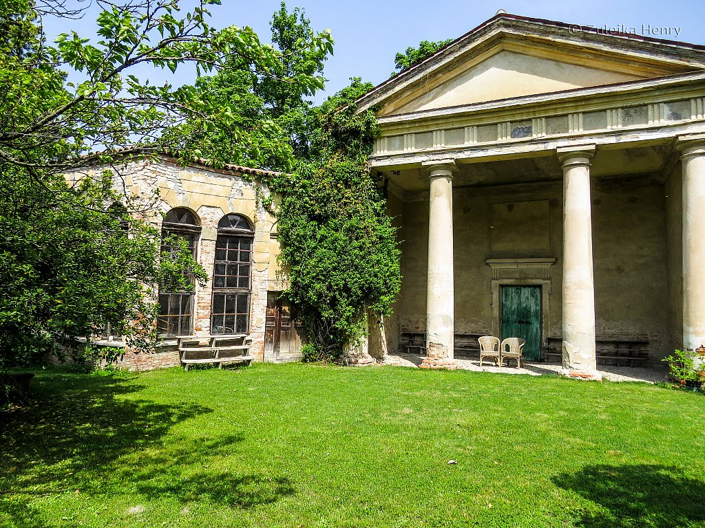 Castillo San Sebastiano Po, Piedmont, Italy