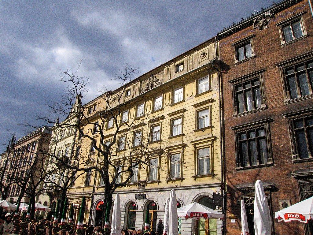 The market square Krakow