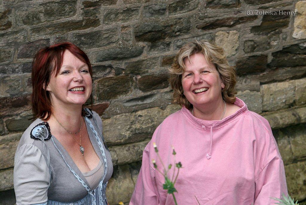 Catherine Johnson and Sandi Toksvig writers