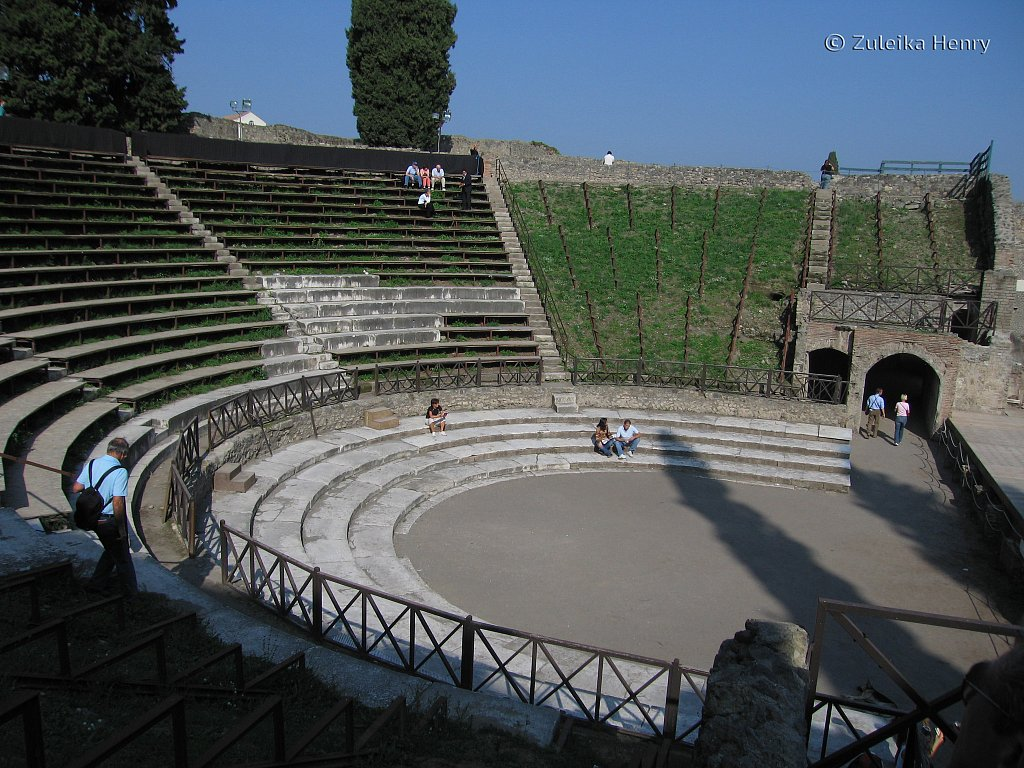 The Amphitheatre built in 80BC