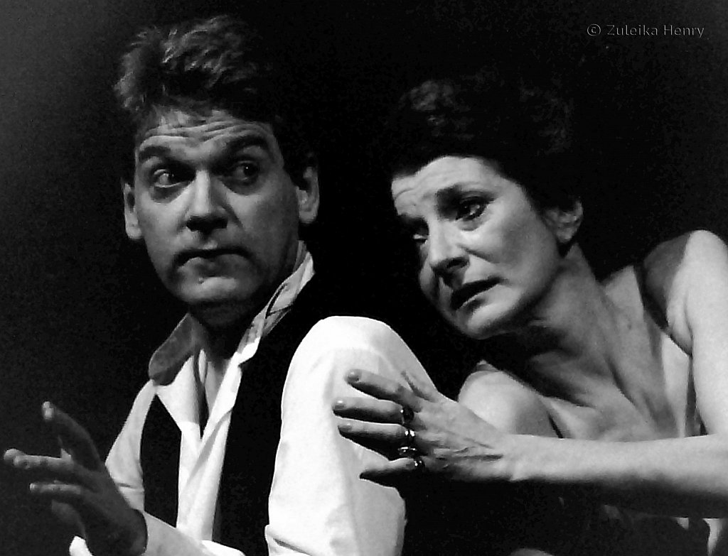 Kenneth Branagh in Hamlet RSC  1992 Directed by Adrian Noble with Jane Lapotaire as Gertrude