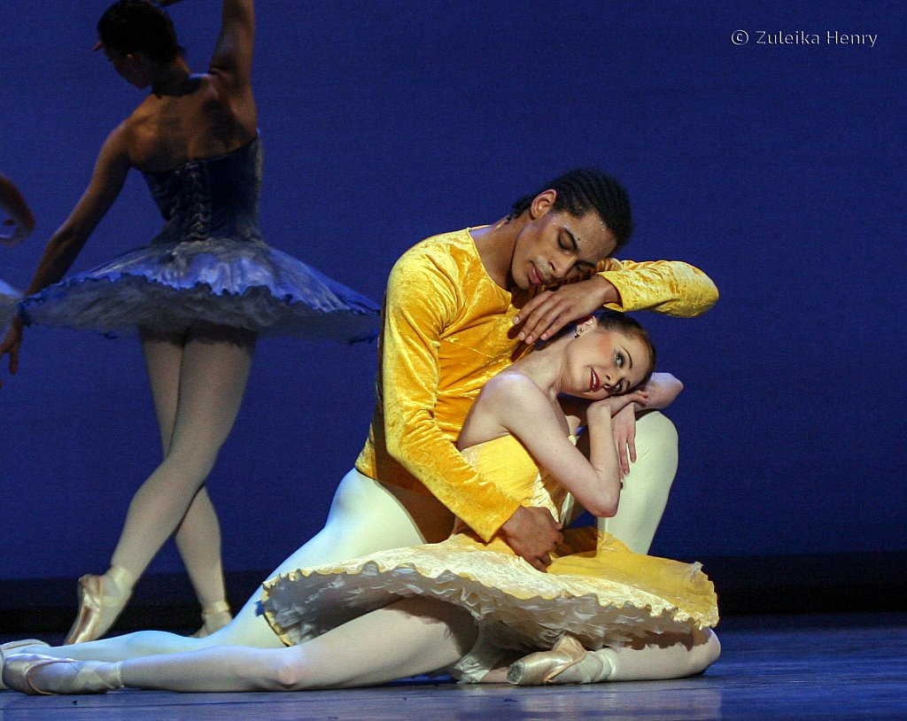 Jenna Roberts and Tyrone Singleton in Summer BRB The Seasons 2006