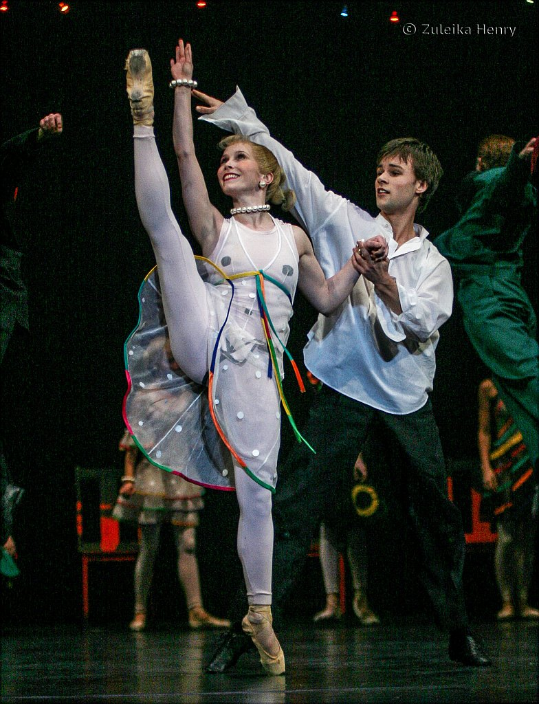 BRB Carmina Burana 2006 Laura Purkiss and Chris Larsen