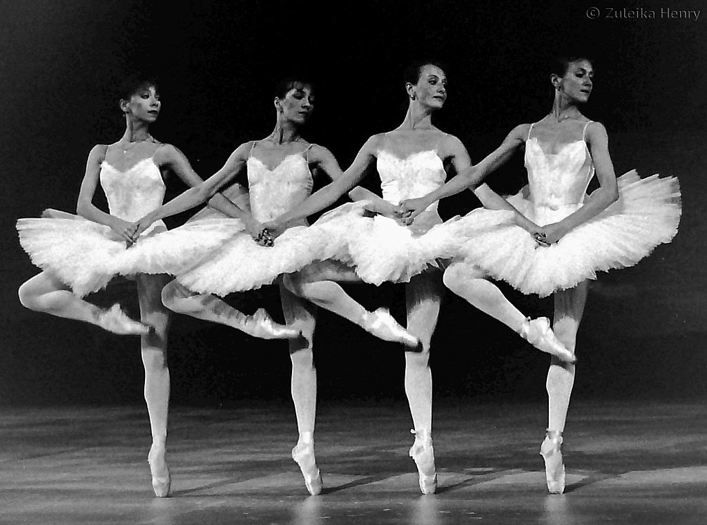 Kirov Ballet rehearsing Swan Lake at The London Coliseum 1993