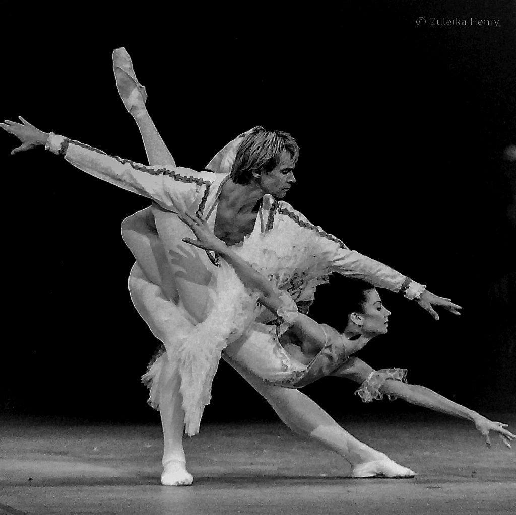 Kirov Ballet reheasing Sleeping Beauty at London Coliseum 1993