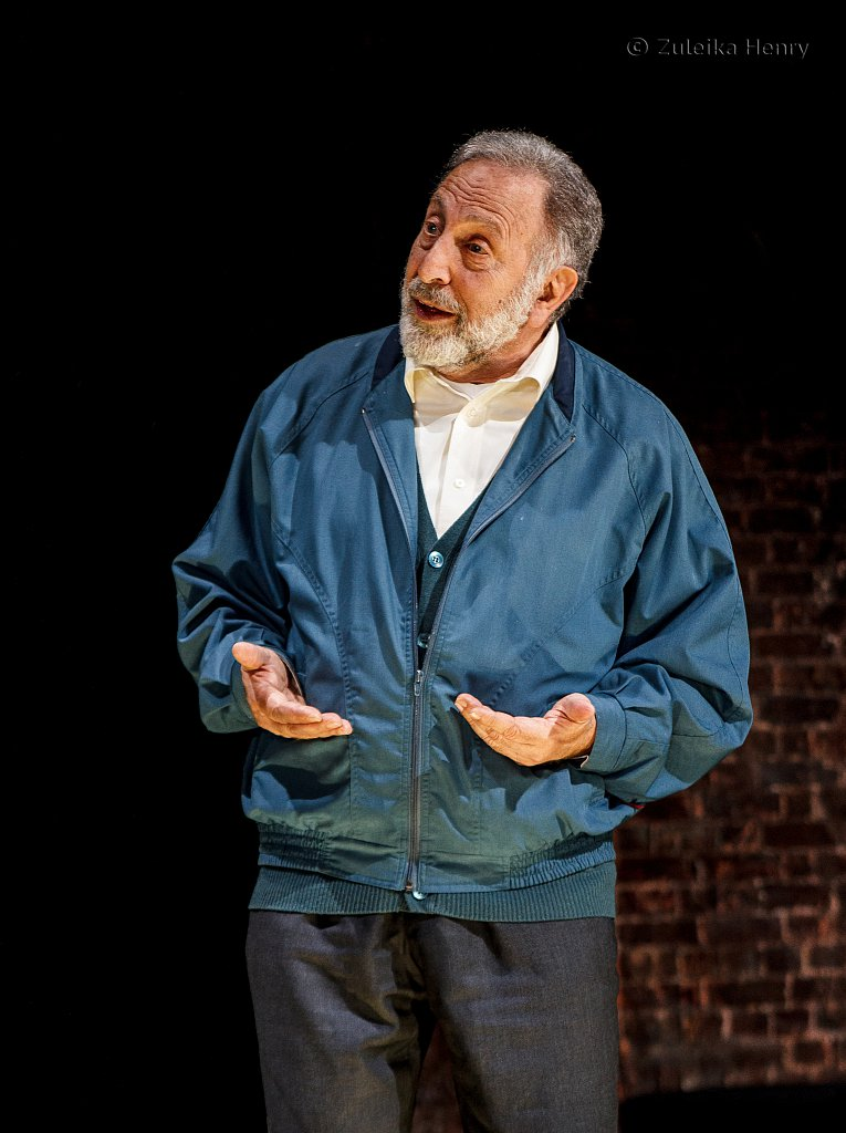 Makram J. Khoury as Shylock