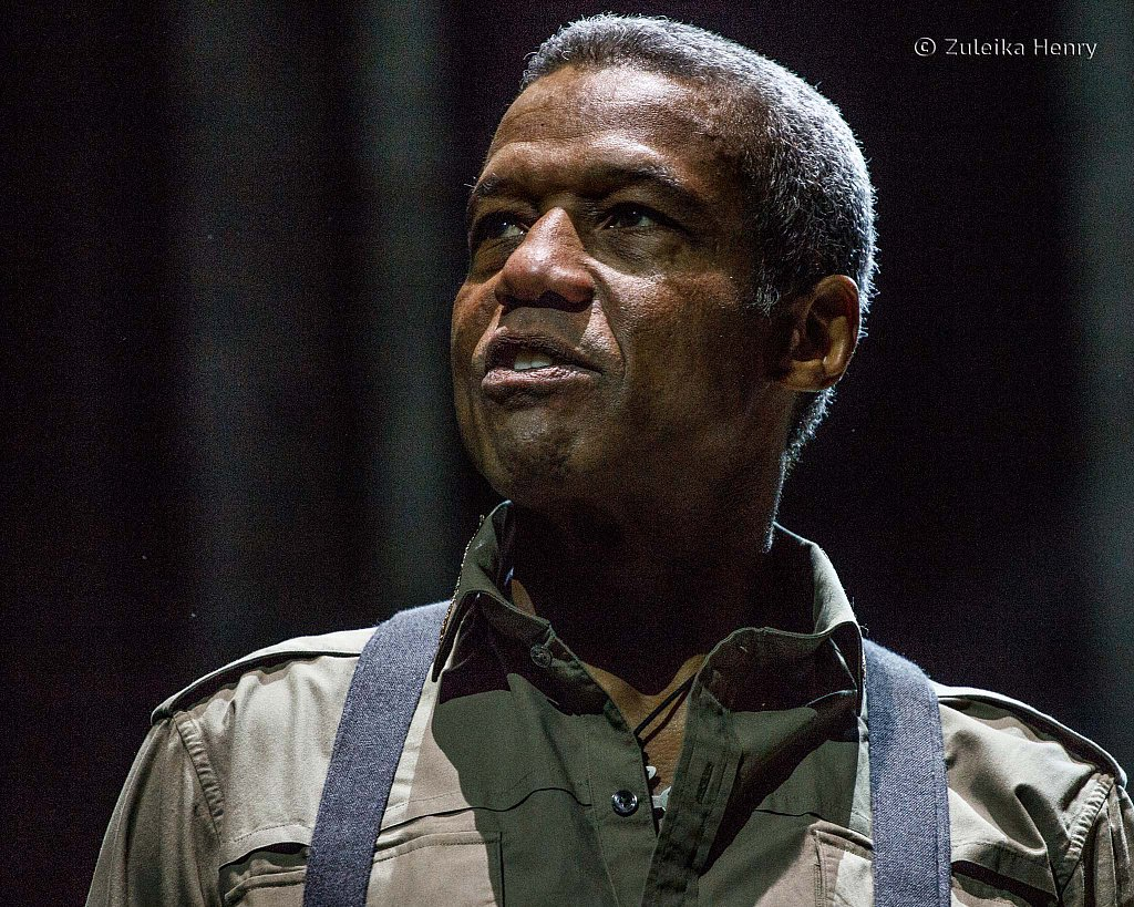 Hugh Quarshie as Othello
