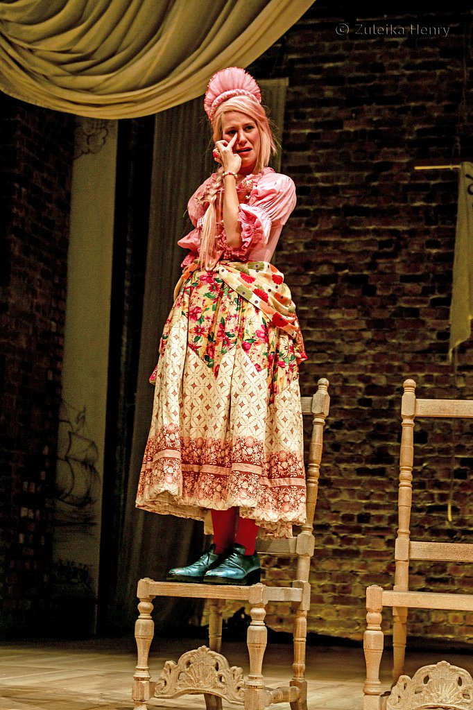 Love for Love Jenny Rainsford as Miss Pru