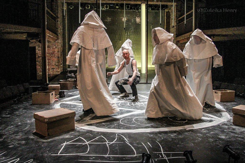 Sandy Grierson as Doctor Faustus