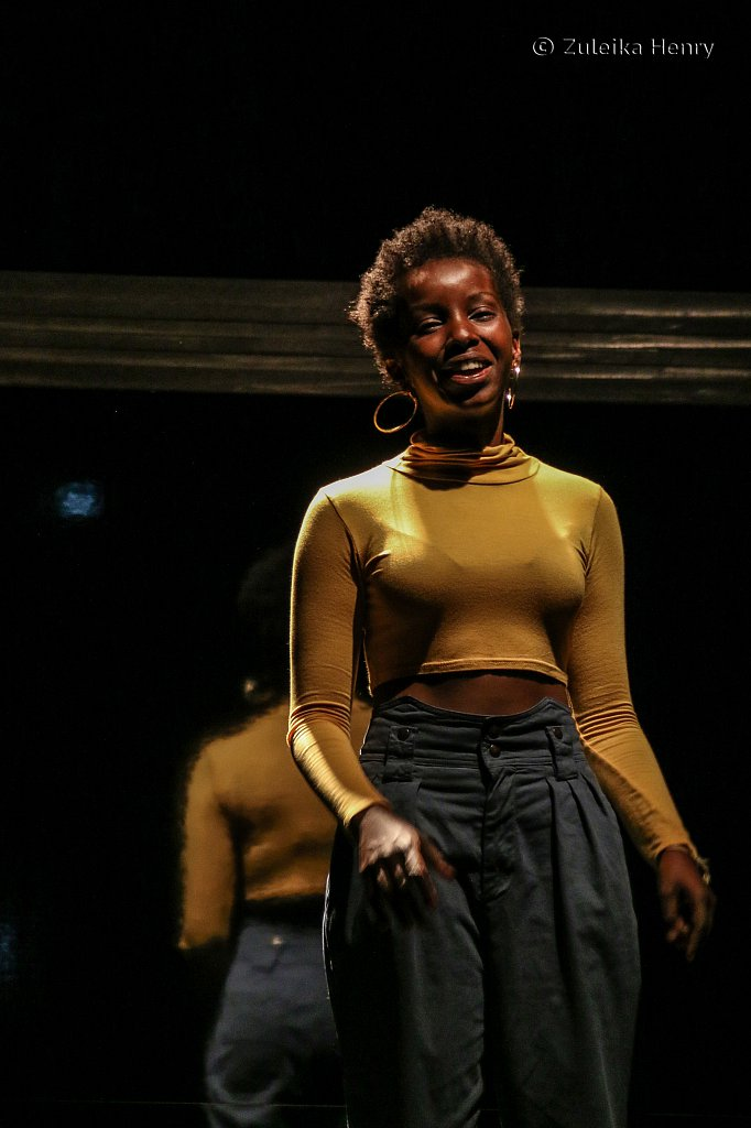 Donna Banya  as Aisha in Fall of the Kingdom, Rise of the Footsoldier by Somalia Seaton