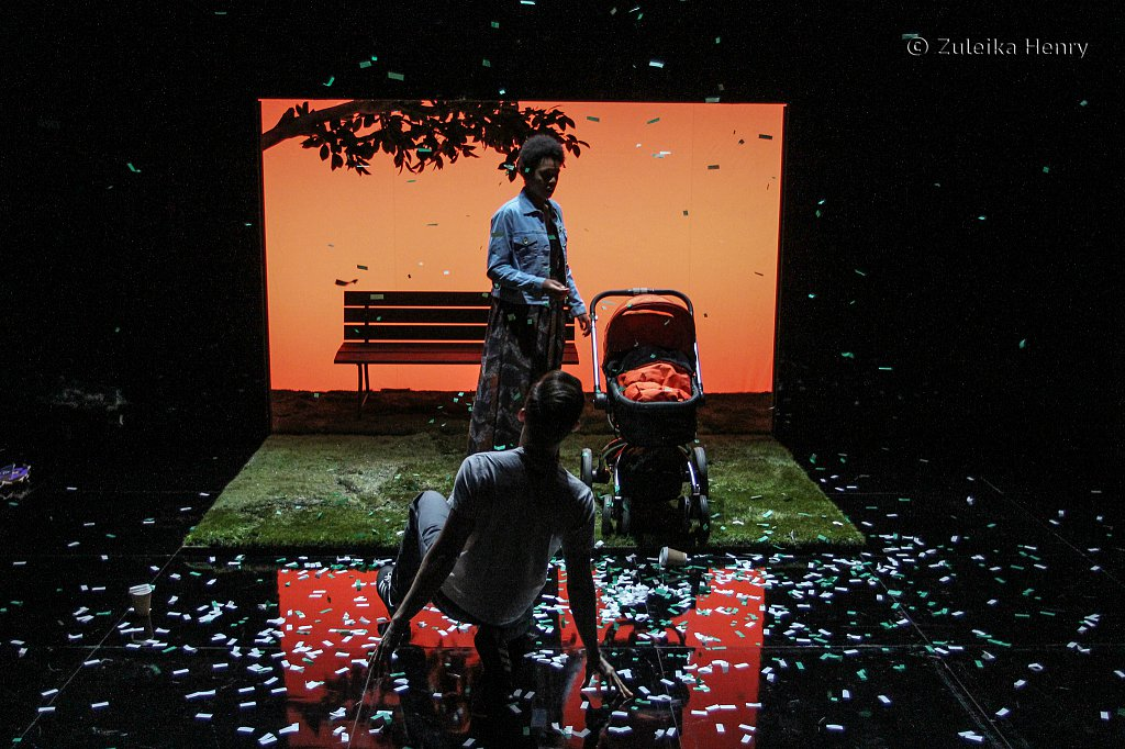 Donna Banya and Ifan Meredith in Always Orange by Fraser Grace