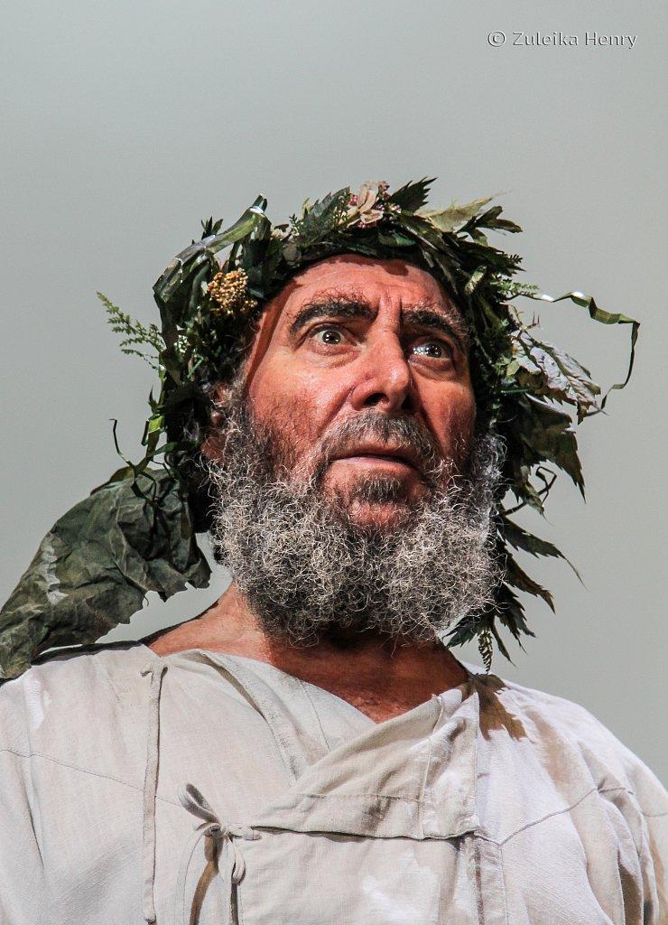 Antony Sher as Lear