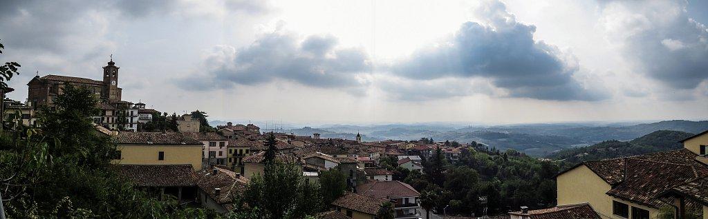 View from Cocconato, Piedmonte