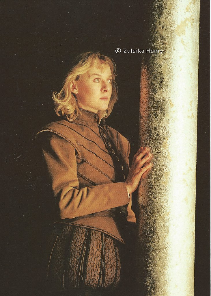 Niamh Cusack as Rosalind 'As You Like It' 1996