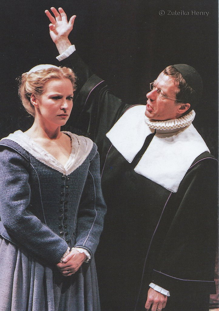 Teresa Banham and Stephen Boxer in The Herbal Bed 1996