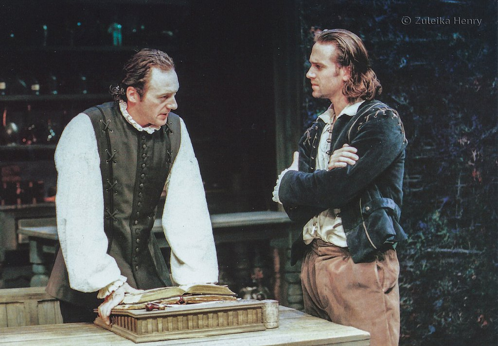 Liam Cunningham and Joseph Fiennes in 'The Herbal Bed' 1996