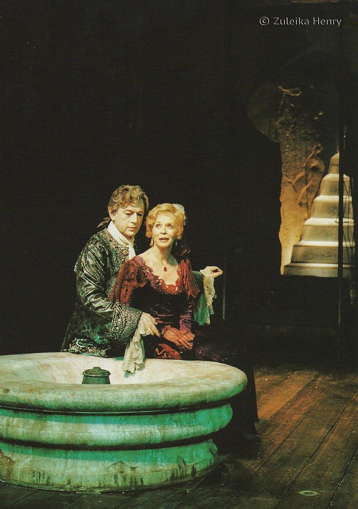 Peter Egan as Casanova andSusannah York as Margeurite Gaultier 'Camino Real' 1997