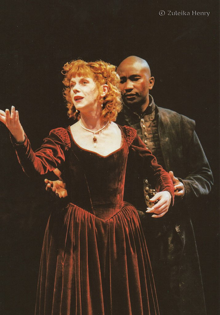 Siobhan Redmond as Bel-Imeria and Patrice Naiambana as Don Andrea 'The Spanish Tragedy' 1997