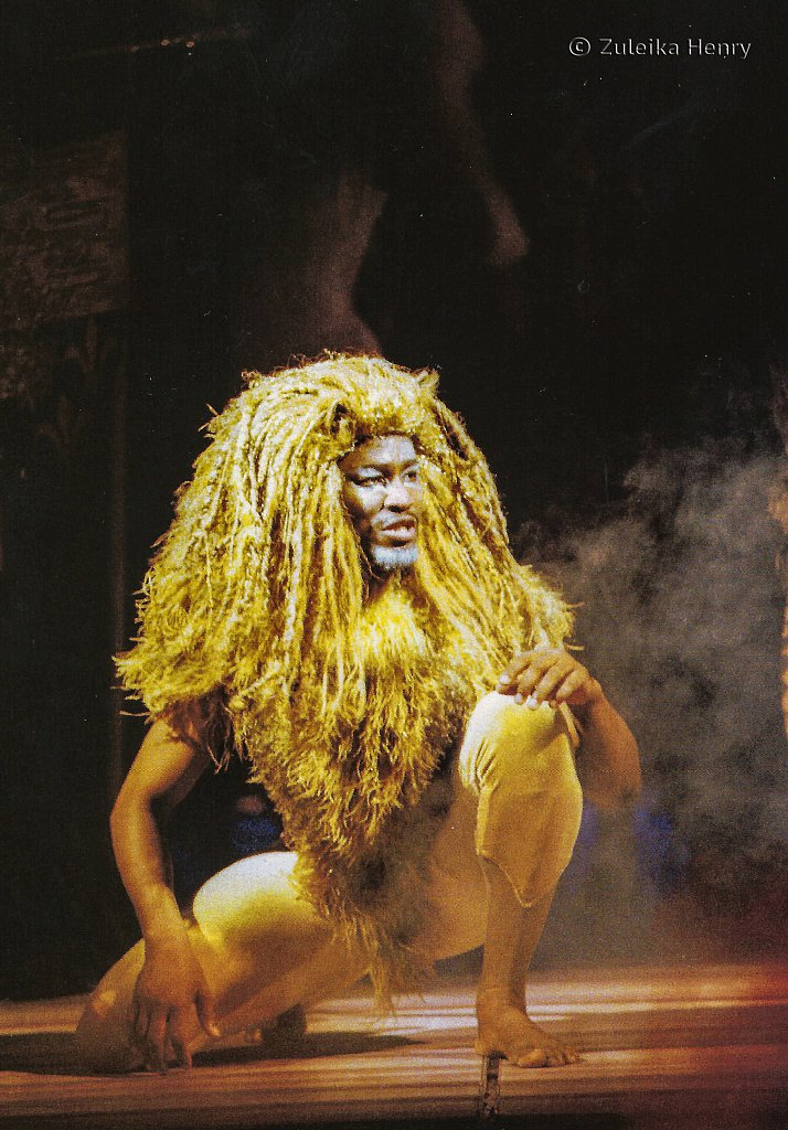 Patrice Naiambana as Aslan 'The Lion, The Witch and The Wardrobe' 1998