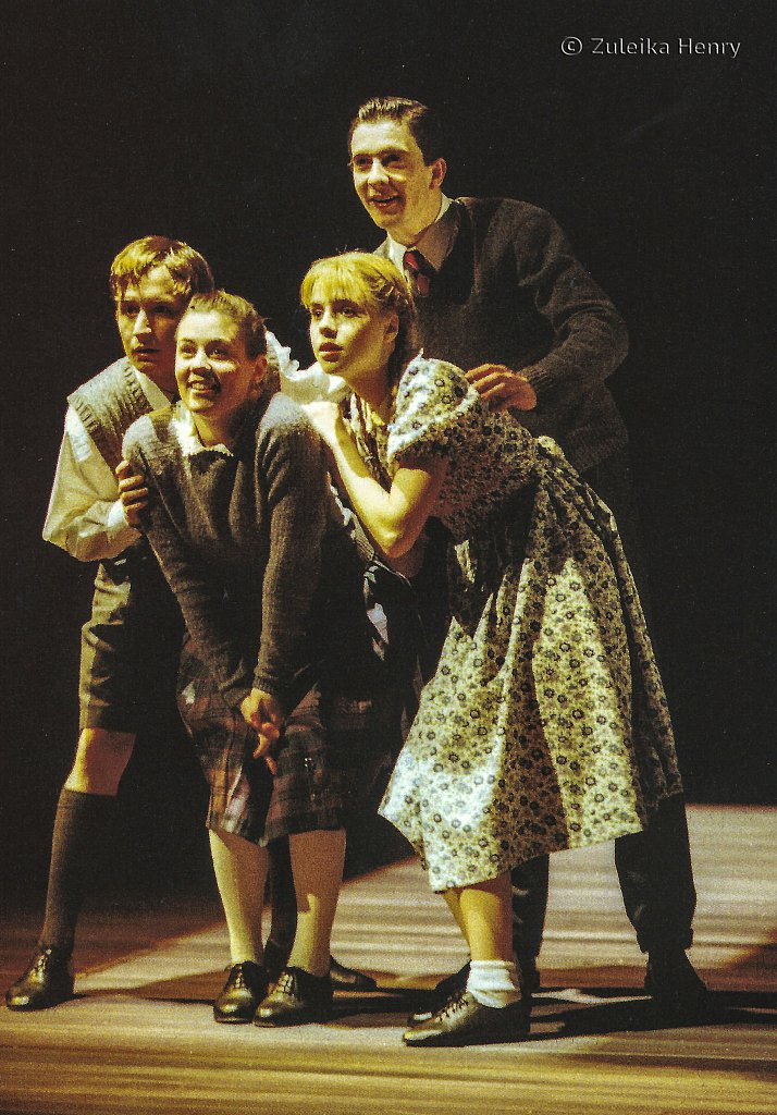 William Mannering as Edmund Emily Pithon as Susan Recca Clarke as Lucy  'The Lion, The Witch and The Wardrobe' 1998