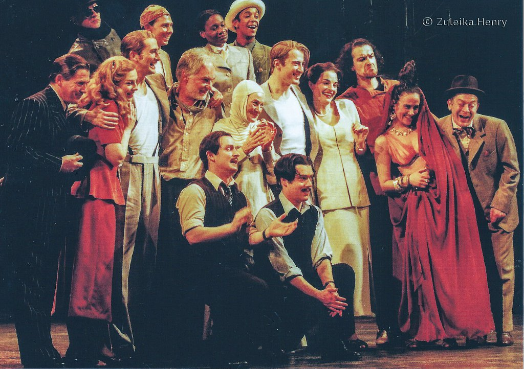 The Cast 'The Comedy of Errors' 1999