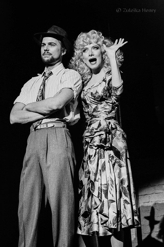 Tim Flavin and Fiona Hendley