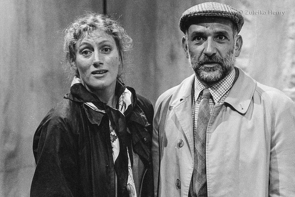 Geraldine James and Ben Kingsley