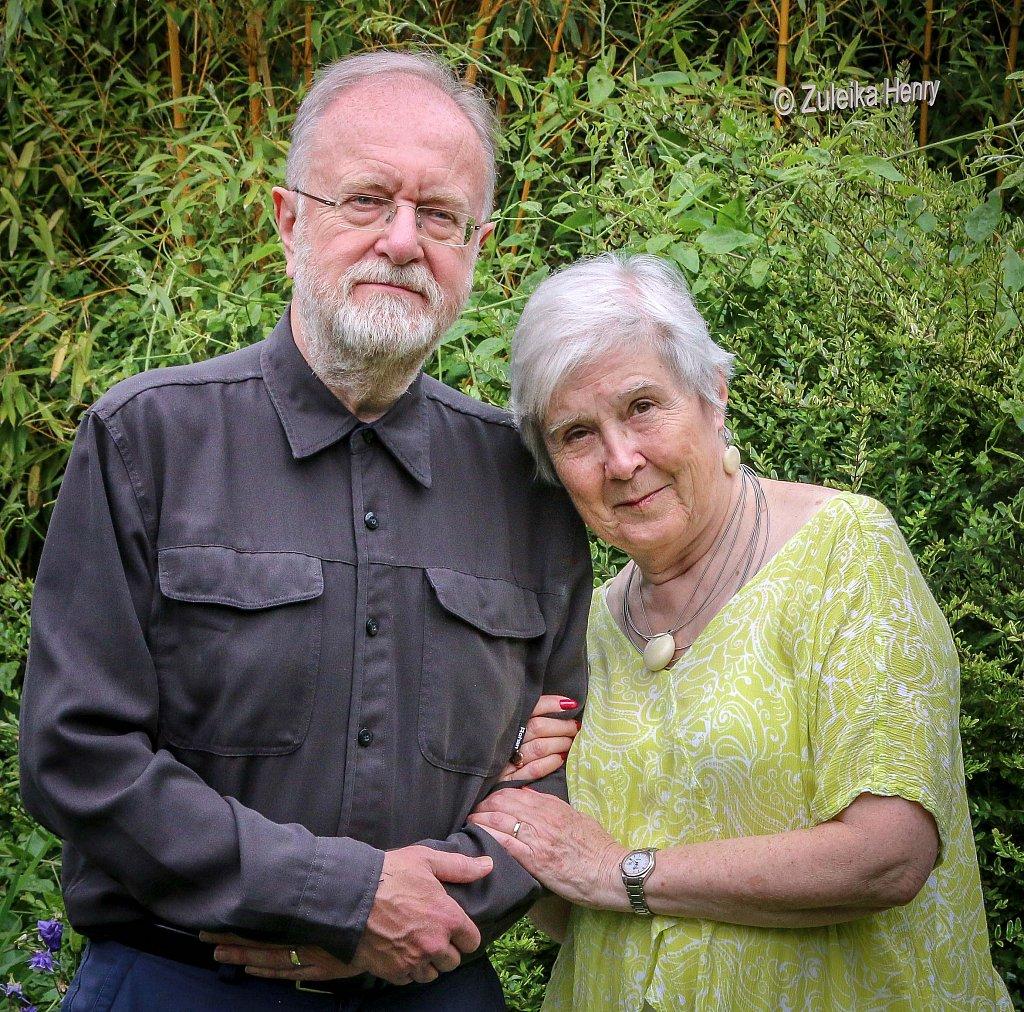Kirsten Elliot and Andrew Swift of Akemen Press