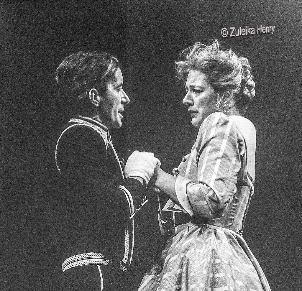 Clive Merrison and Maggie Steed