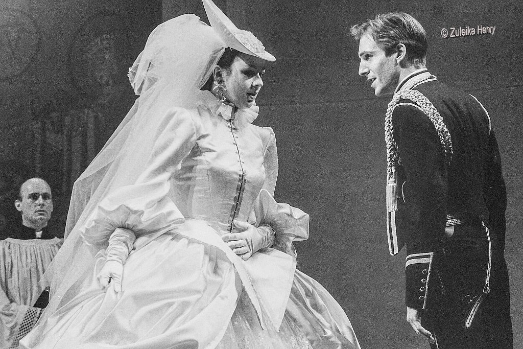 Ralph Fiennes and Julia Gord