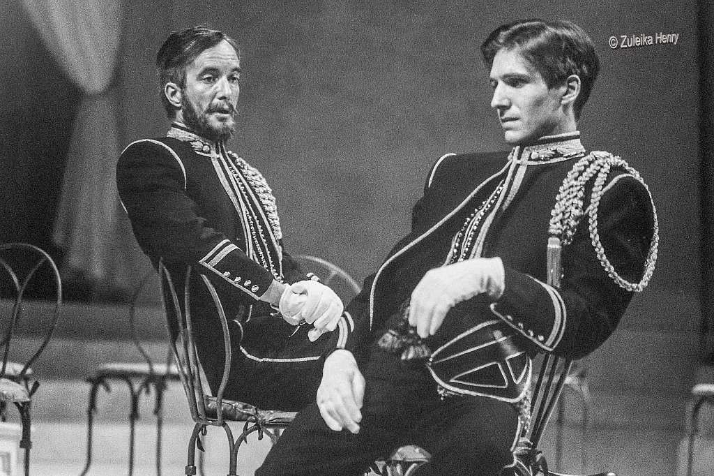 Clive Merrison and  Ralph Fiennes